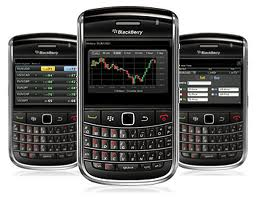 Trading platform for blackberry
